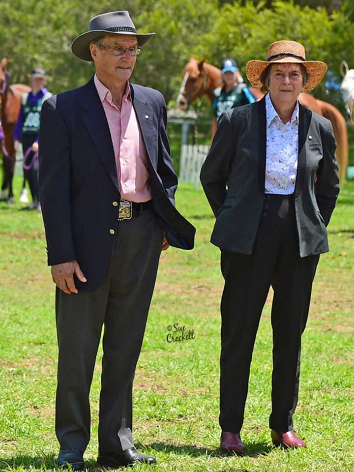 Endurance legends Ron and Vale Males judged the Endurance Classes.