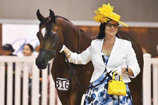 Samantha-and-Jalilah-competing-in-Fashions-On-The-Field-pc-Julie-Wilson